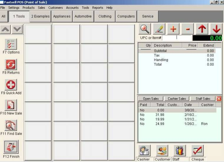 how to get cash receip report from quickbooks