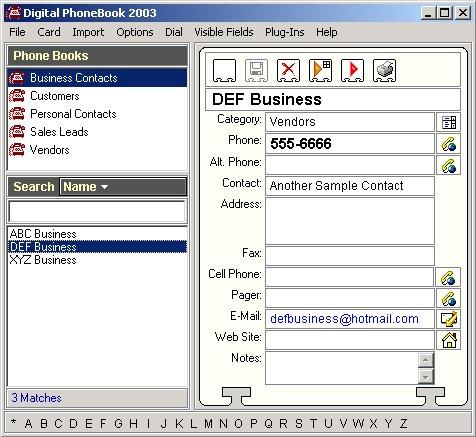 Digital PhoneBook