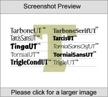 TarboneUT Family PC Software