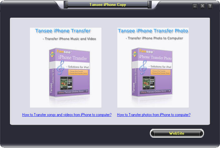 Tansee iPhone Copy Pack