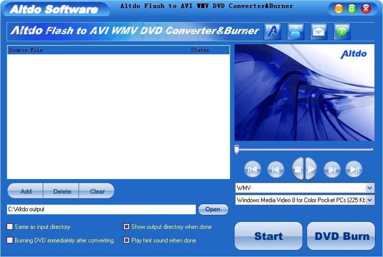flash to video konverter freeware: