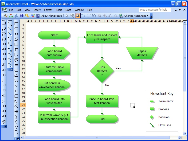 Microsoft office 2007 basic diagram microsoft free Easy flowchart software