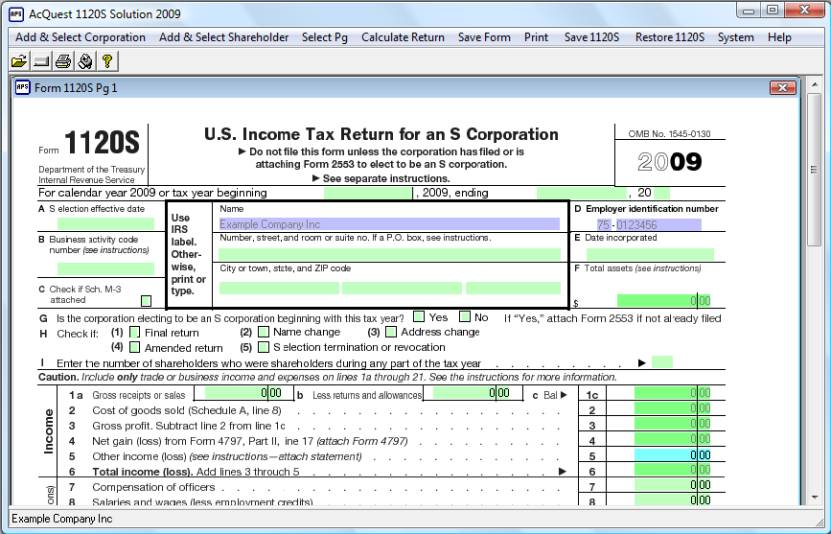 State Tax Filing Software - H