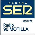 Radio 90 Motilla (Cadena SER) Top 40/Pop