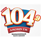 Radio Amorim 104 FM Brazilian Popular