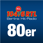 104.6 RTL Best of the 80s 80`s