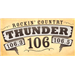Thunder 106 Country