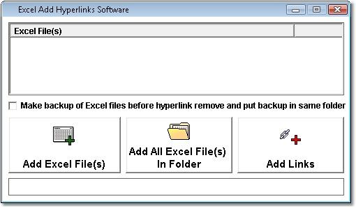 Excel Add Hyperlinks Software