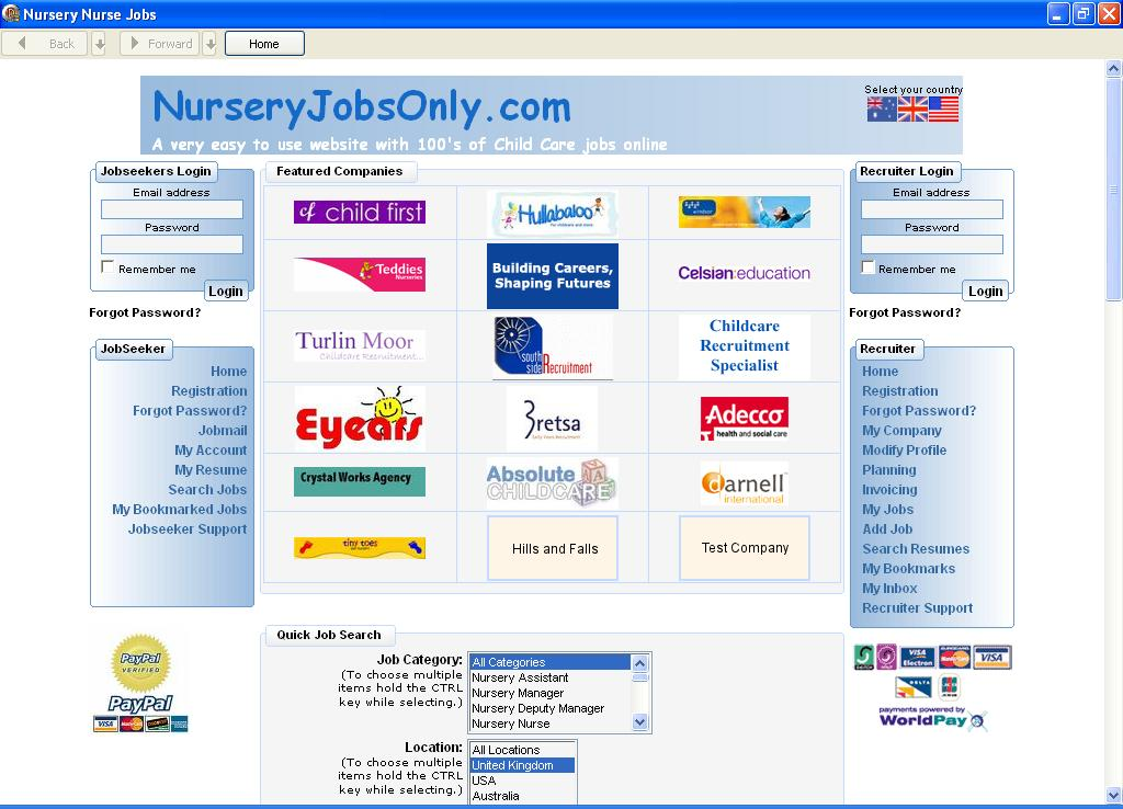 Nursery Nurse Jobs Business Business Finance Free