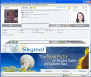 Skymol Live Customer Support Software