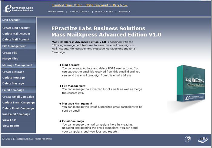 EPractize Labs Mass MailXpress Advanced Edition