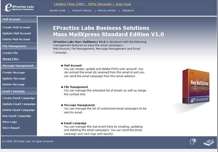 EPractize Labs Mass MailXpress Standard Edition