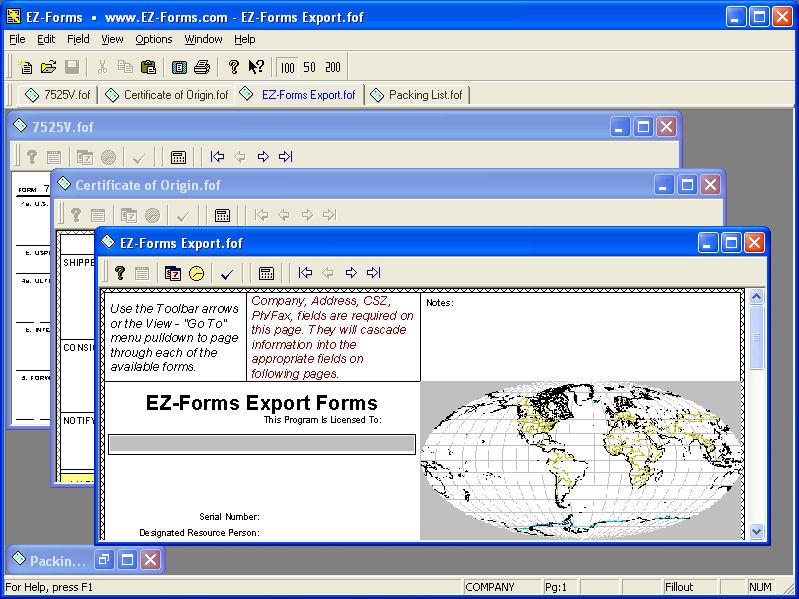 EZFormsEXPORT
