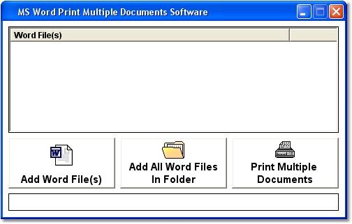 free multiple pdf printer software