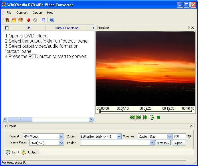 Convert DVD 2 MP4