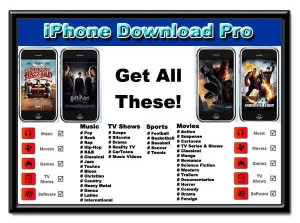 DIRECT IPHONE DOWNLOADS