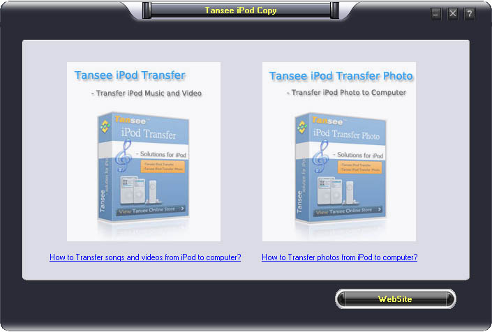 Tansee iPod Copy Pack