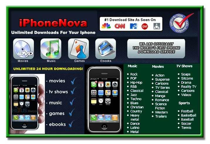 iPhone Media File Downloads