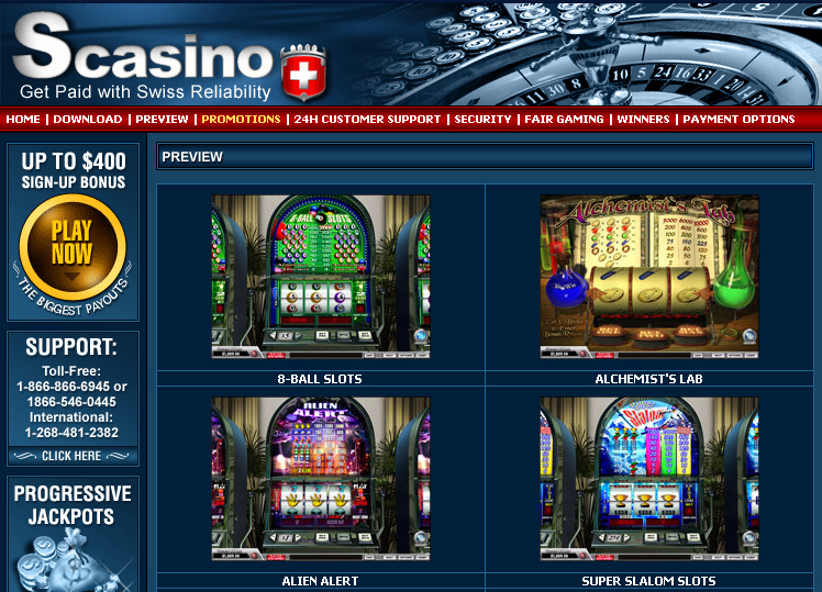 swiss casino download