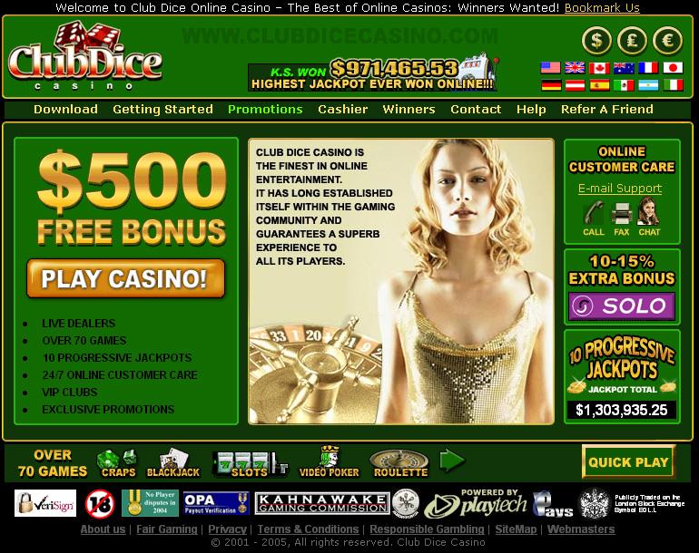 Casino casino club dice gambling progressive review slot ticker casino arrested