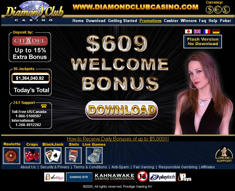 Diamondclub casino casino online poker room world