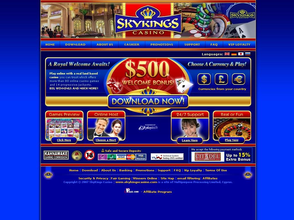 Sky kings casino blackjack switch casino
