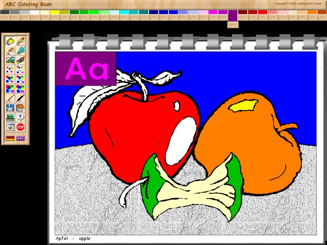 ABC Coloring Book I