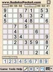 Sudoku Pocket for the Pocket PC (Windows Mobile)