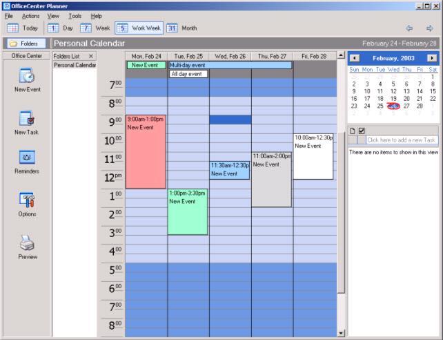 OfficeCenter Planner 2.1 by Center- Software Download