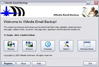 XMedia EMail Backup Personal Gold Edition
