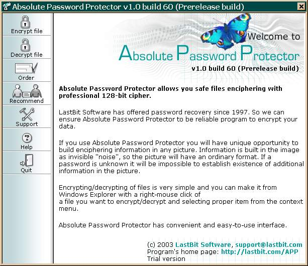 Absolute Password Protector