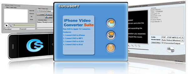 Cucusoft iPhone Video Converter + DVD to iPhone Converter Suite Pro