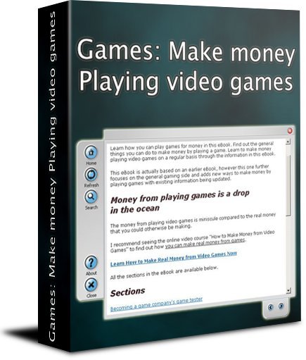 Games: Make money playing video games