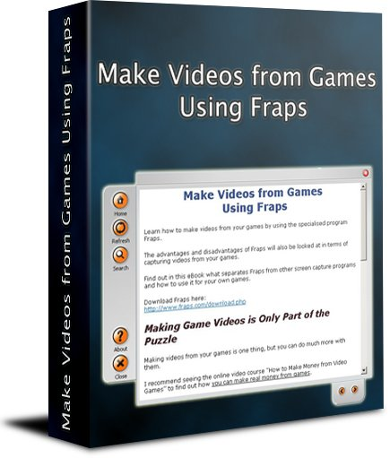 Make Videos from Games Using Fraps