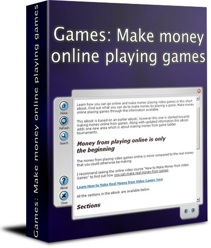 Games: Make money online playing games