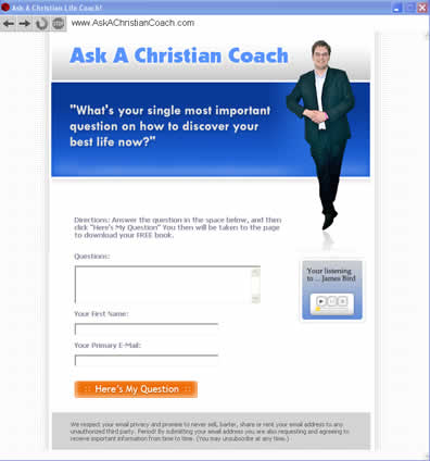Ask A Christian Coach Submitter