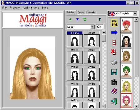 MAGGI-Hairstyle and Make-up Software