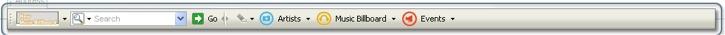 Music Billboard Toolbar