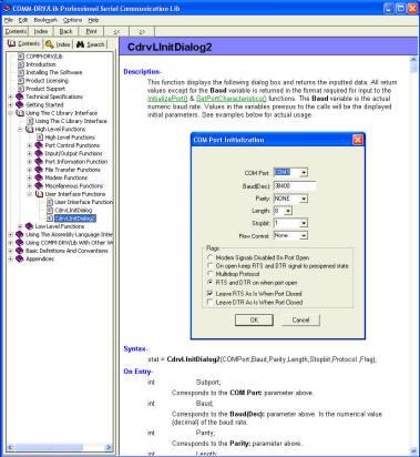 COMMDRV/Lib Standard Edition 19.0