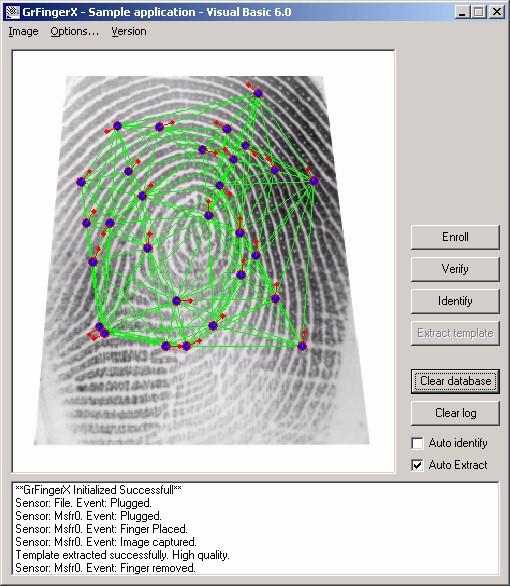 GrFinger Biometric SDK Trial 4.2
