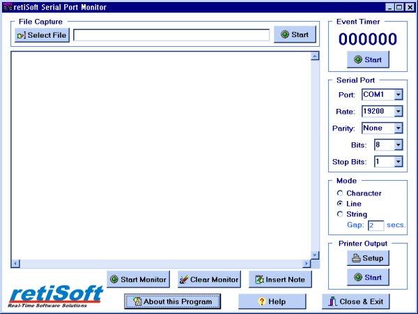 Free serial port monitor software developer debugging - Serial port monitor ...