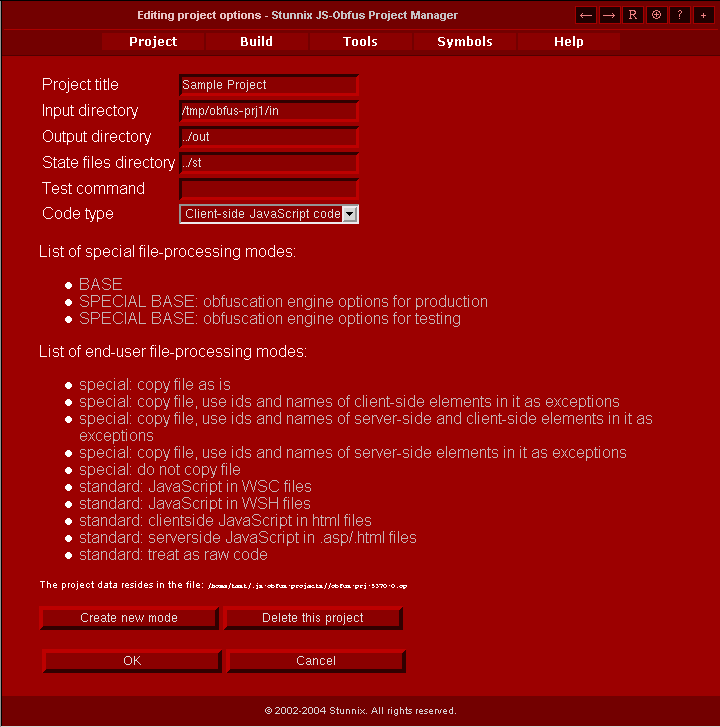 Stunnix JavaScript Obfuscator