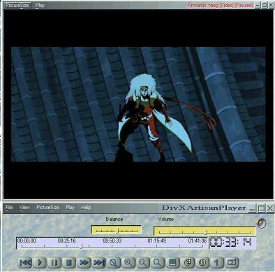 Artisan DVD/DivX Player 1.08