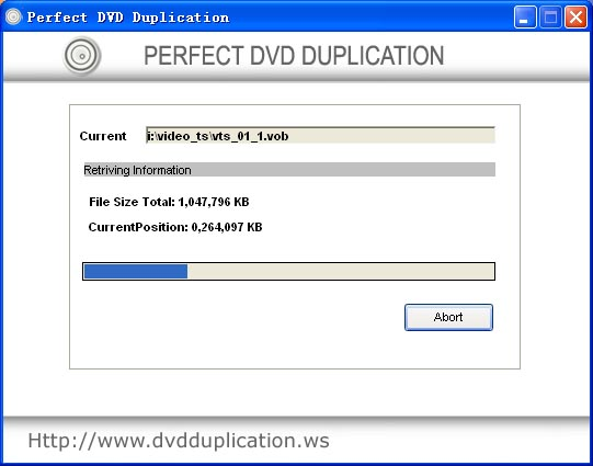Perfect DVD Duplication
