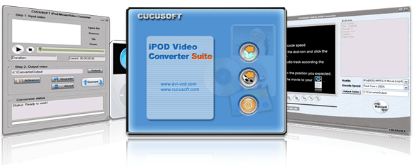 Cucusoft iPod Video Converter + DVD to iPod Converter, AllinOne Suite 5.3