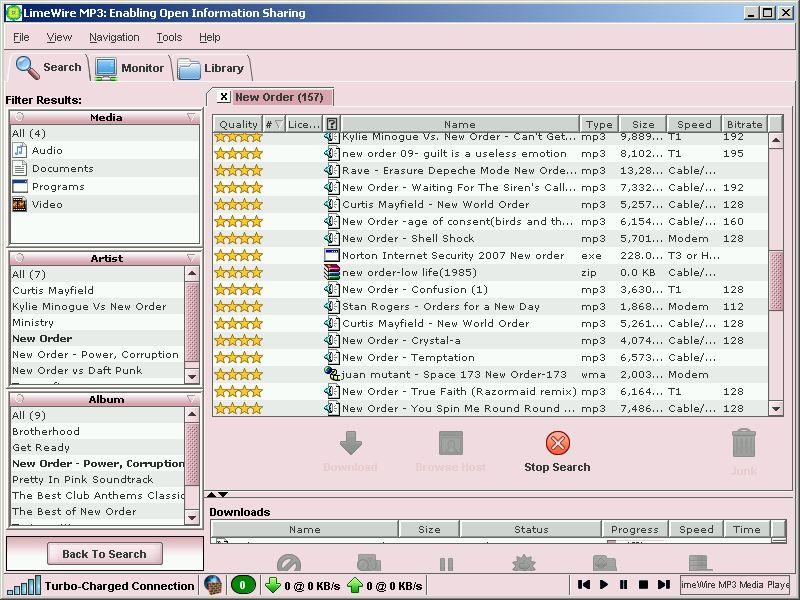 LimeWire MP3