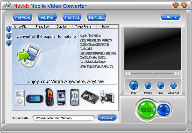 Program to Convert Videos for Mobile