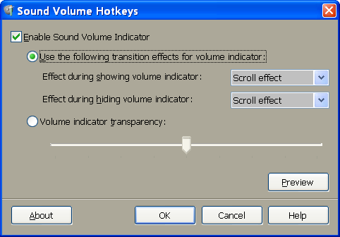 Sound Volume Hotkeys