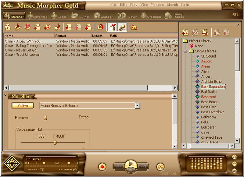 AV Music Morpher Gold (fr)