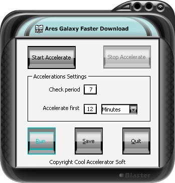 Ares Galaxy FasterDownloads